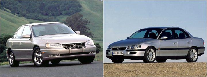 Badge engineering: Cadillac Catera y Opel Omega