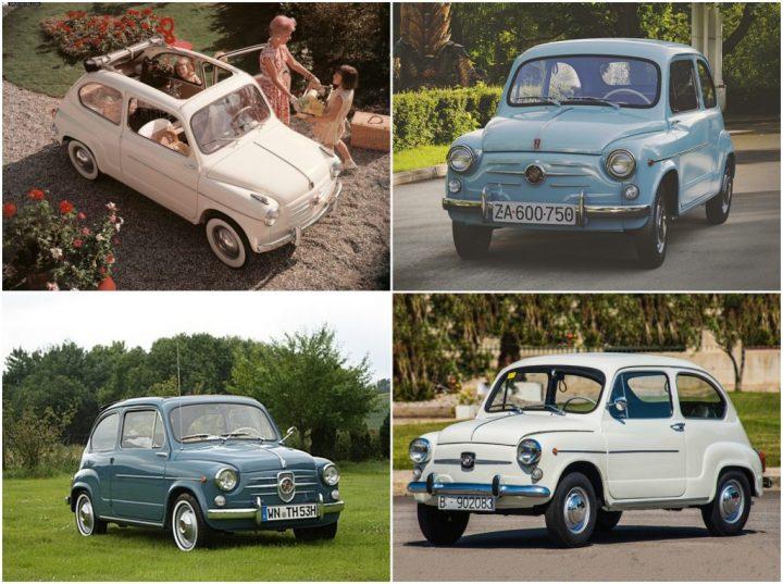 Badge engineering: Fiat 600, Zastava 750, Neckar Jagst y SEAT 600
