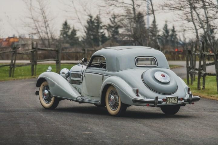 Mercedes-Benz 540K Hebmuller Coupe (1937) | RM Sotheby's