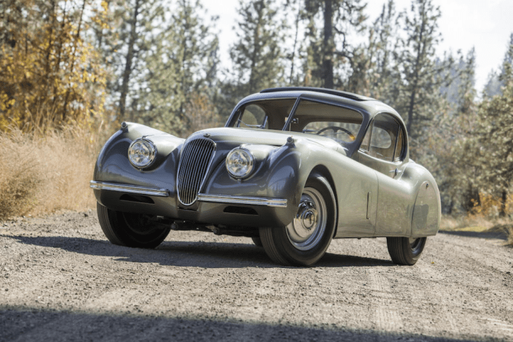 Bonhams 1952 Jaguar XK120 Fixed Head Coupe 78.400 $