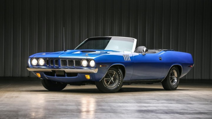 Plymouth 'Cuda 440-6 Pack Convertible (1971) | Worldwide Auctioneers