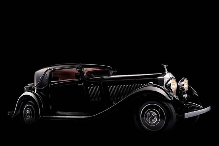 Rolls-Royce Phantom II Skiff-Bodied Roadster de 1933