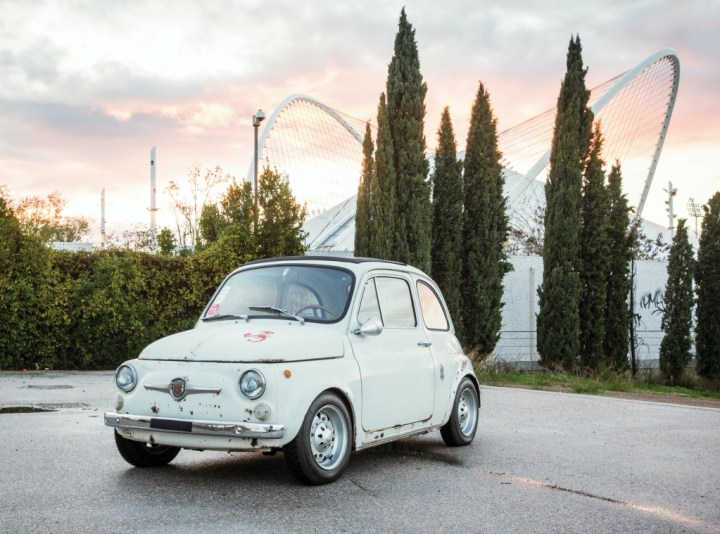 Abarth 695 SS (1966) | RM Sotheby's front 3/4