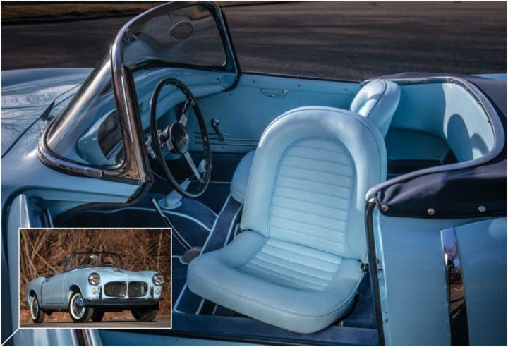 1959 Fiat 1200 TV Spider