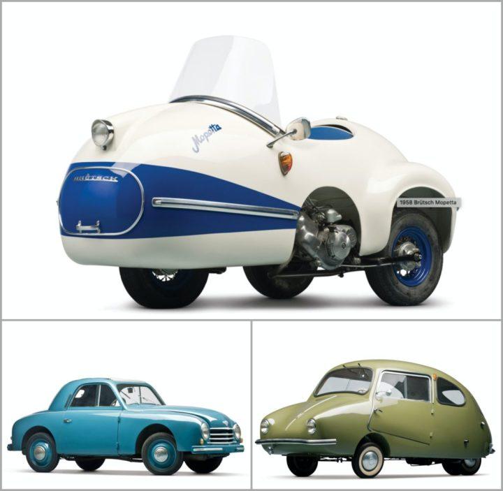 Brütsch Mopetta, Gutbrod Superior y Fuldamobil