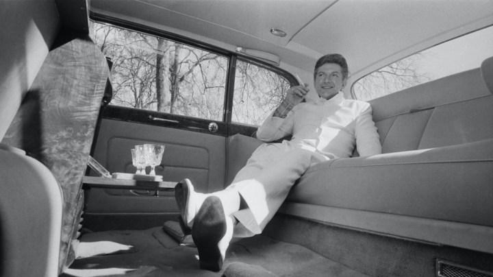 Liberace en Londres, el 21.3.1968 | Terry Disney/Getty Images