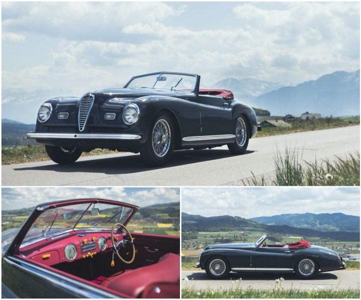 Alfa Romeo 6C 2500 Super Sport Cabriolet Pinin-Farina (1948) | RM Sotheby's