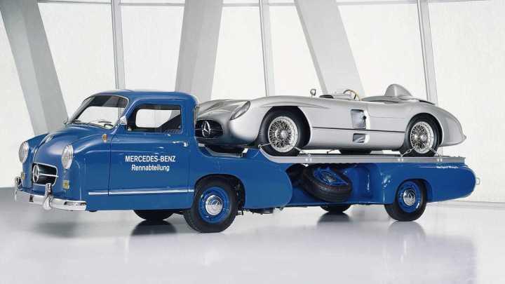 La réplica en el museo de Suttgart | Daimler