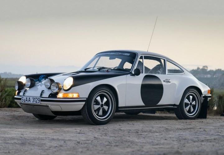 Subastas Monterey 2020 22 Gooding Porsche 911 ST Rally (1971)