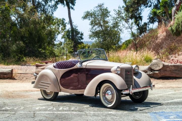 Subastas Monterey 2020 RM Sotheby's 1938 American Bantam Roadster 25.850$
