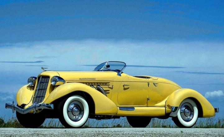Mis clásicos preferidos... Auburn Speedster 851/2 SC: 500 unidades aprox. entre 1935 y 1936