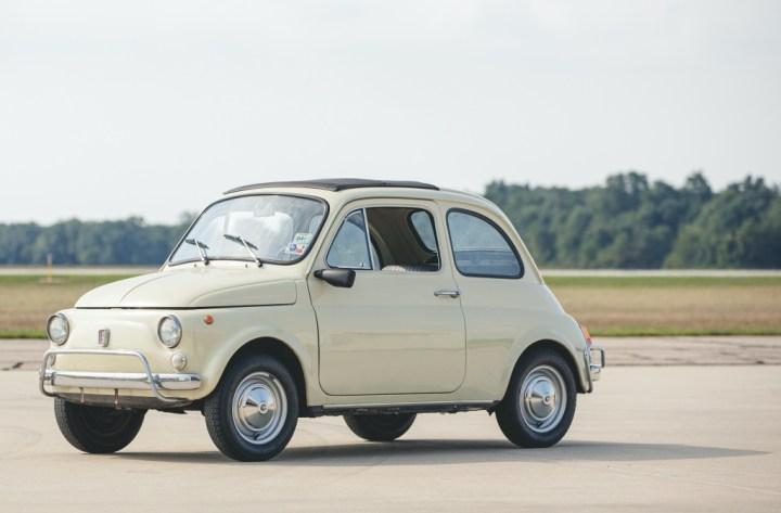 Subastas Otoño 2020 (2) RM Sotheby's Elkhart 1970 Fiat 500 L 14.560 $