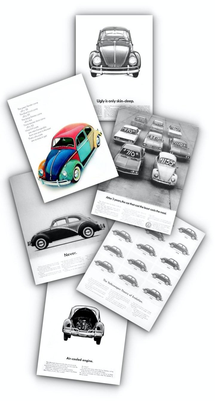 Anuncios de coches: Think Small de Volkswagen