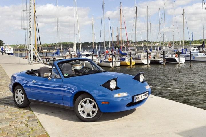 Coches retro: Mazda MX-5 NA