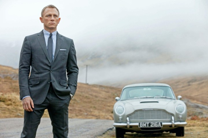 "Daniel Craig durante el rodaje de ""Skyfall"" en 2012 | Danjaq/MGM"