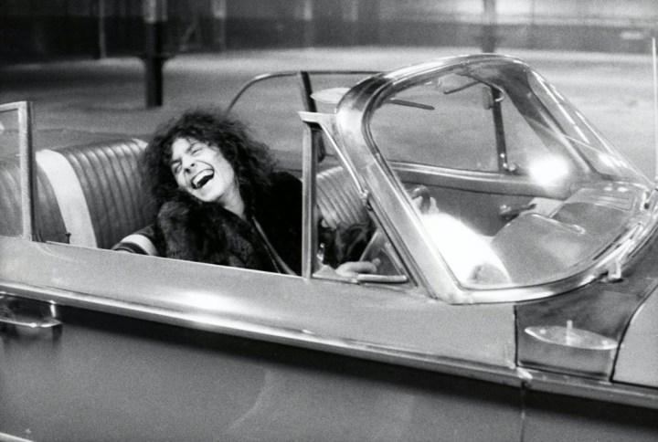 Marc Bolan durante el rodaje de 'Born to Boogie' | Estate Of Keith Morris:Redferns
