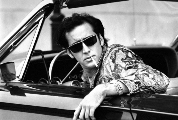 Nicolas Cage durante el rodaje de Wild at Heart en 1989 | Acey Harper:The LIFE Images Collection:Getty Images