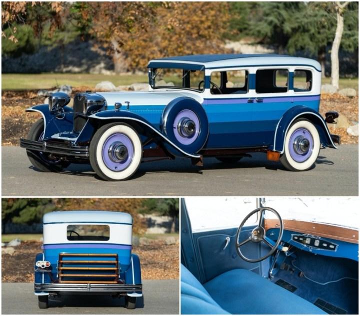 Subastas Arizona 2021: 1929 RUXTON MODEL A SEDAN sin vender (est. 400-500.000 $) | Gooding and Company