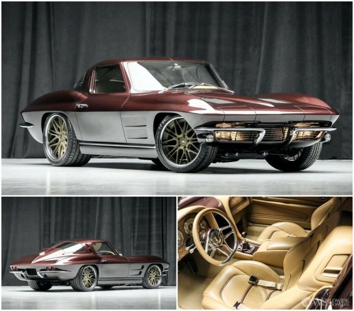 Subastas Arizona 2021: 1963 Chevrolet Corvette RestoMod Coupe | Worldwide Auctioneers