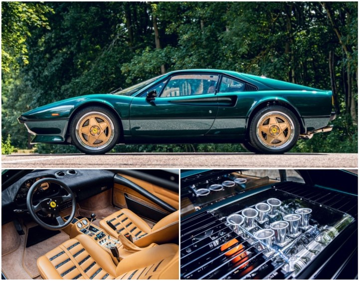 Restomod: Ferrari 308 GTB de Moto Technique