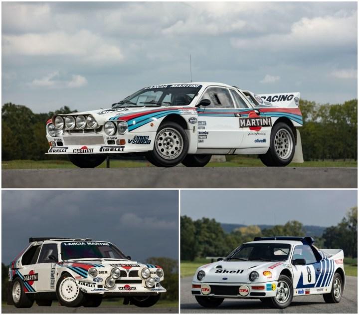 Lancia 037 (1985) - Lancia Delta S4 (1986) - Ford RS200 (1986) | Artcurial