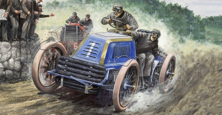Carlo Demand: Gordon-Bennett 1902