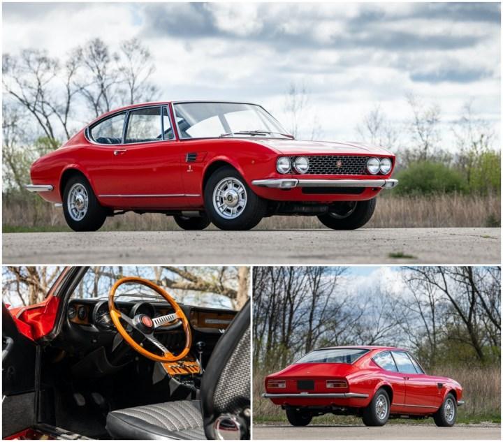 Amelia Island 2021: 1967 Fiat Dino Coupe by Bertone est 60-80.000$ venta 81.200$ | RM Sotheby's