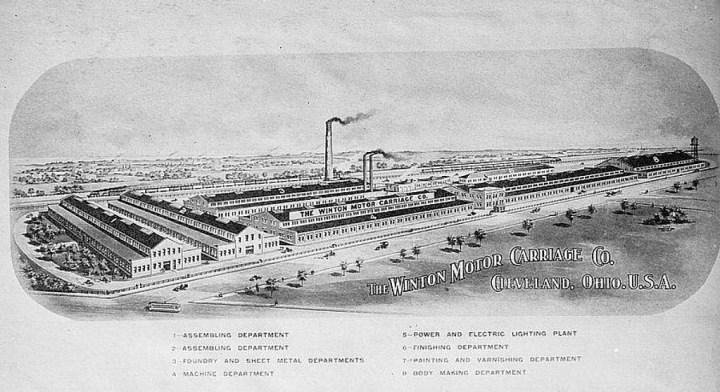 Fábrica de la Winton Motor Carriage Company