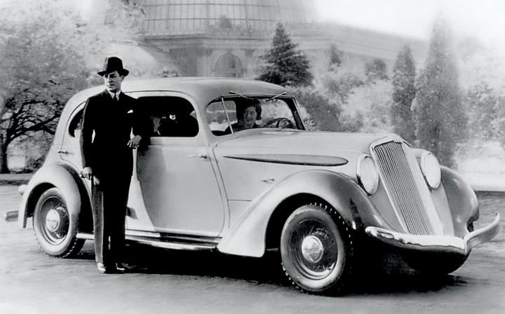 Concept cars: 1934 Aerodynamic Hupmobile