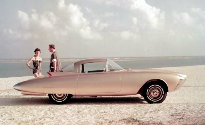 Concept cars: 1956 Oldsmobile Golden Rocket
