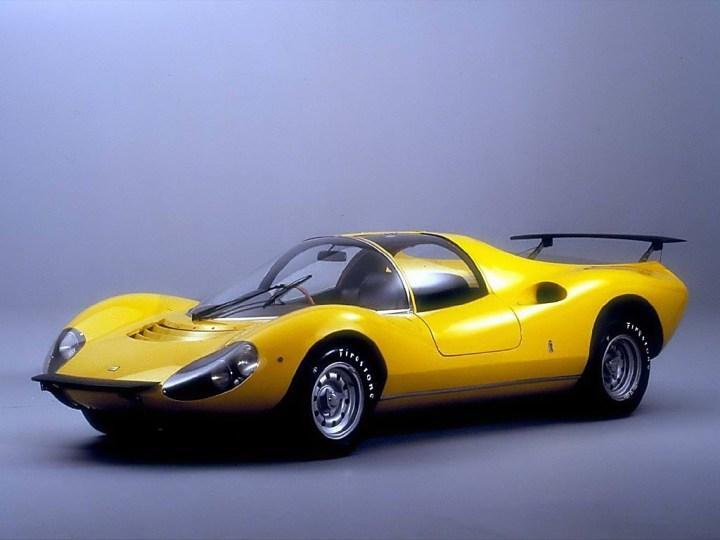 Concept cars: 1967 Ferrari Dino 206 Competizione Prototipo