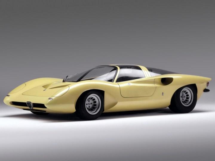 1969 Alfa Romeo P33 Coupe