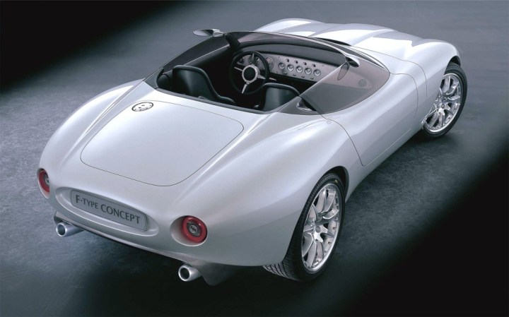 Concept cars: 2000 Jaguar F-Type