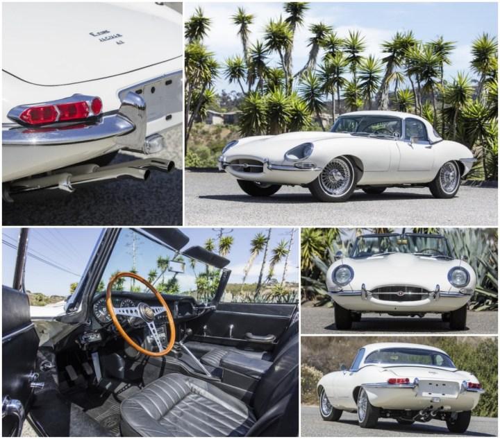 1967 JAGUAR E-TYPE SERIES I 4.2 ROADSTER est 190-240.000 $ sin vender   Bonhams