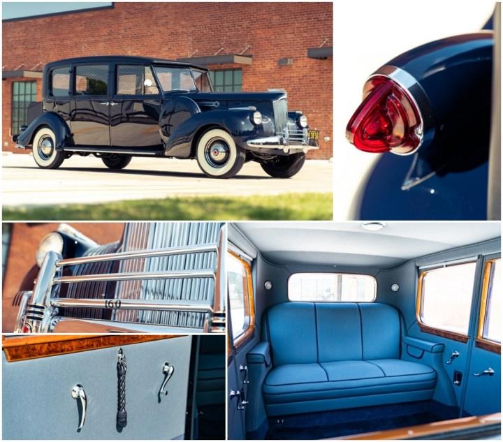 Subastas Monterey 2021: 1941 Packard Super Eight est 190-220.000 $ 145.600 $   Gooding
