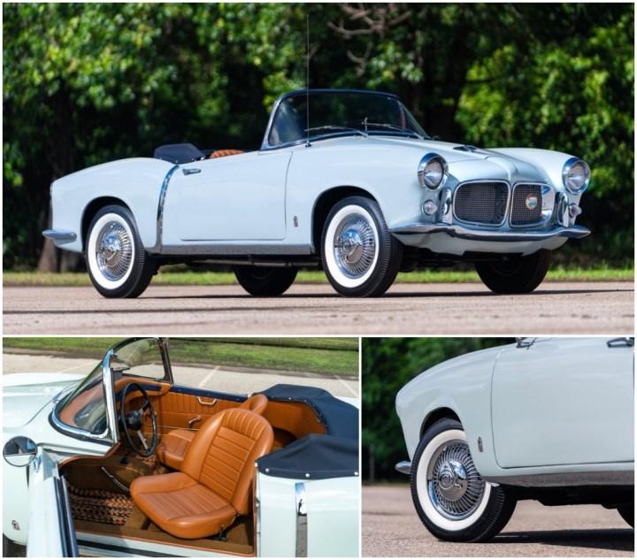 1957 Fiat 1200 Transformabile est 60-80.000 $ 61.600 $   Gooding