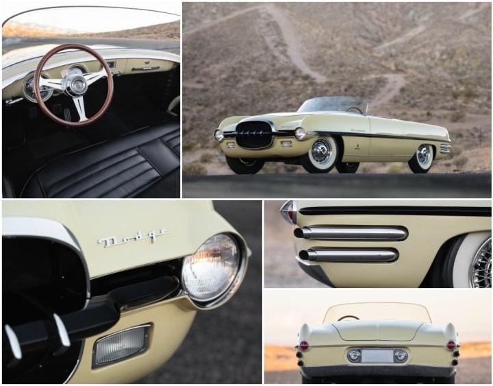 Dodge Firearrow II by Ghia de 1954 est 0,9-1,2 M$ vendido por 1,05 M$ | RM Sotheby's