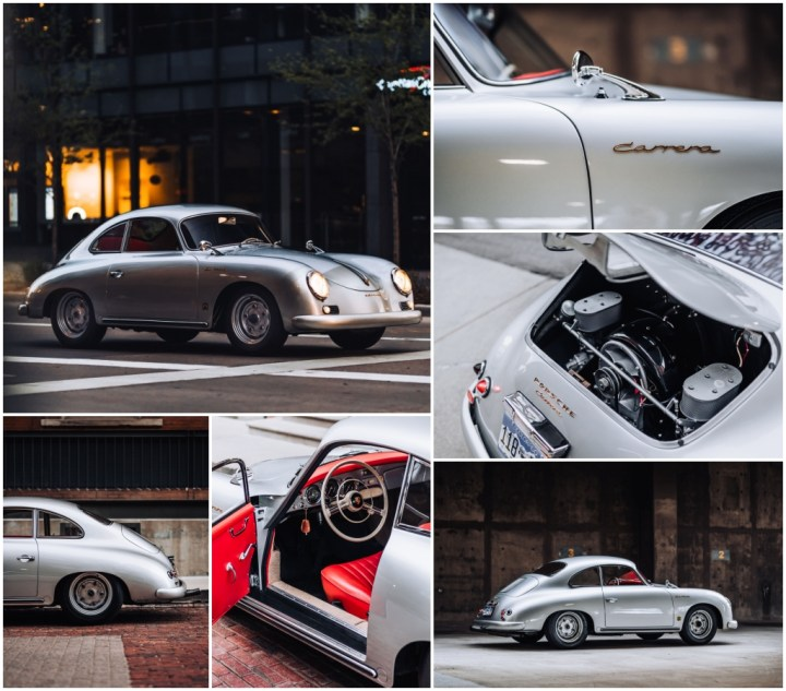 Subastas Monterey 2021: 1956 Porsche 356 A Carrera 1500 GS Coupe by Reutterest 425-500.000 $ 472.500 $   RM Sotheby's