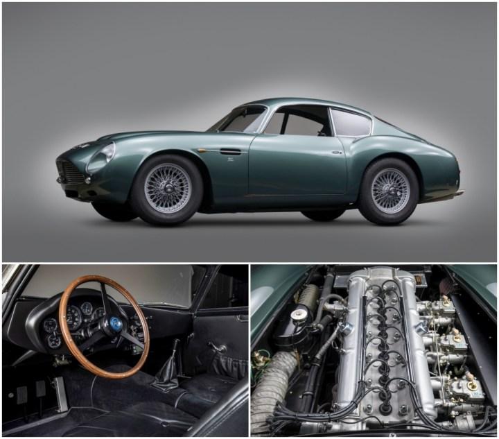 1961 Aston Martin DB4GT Sanction II Zagato est 3-3,5 M$ 2,755 M$   RM Sotheby's