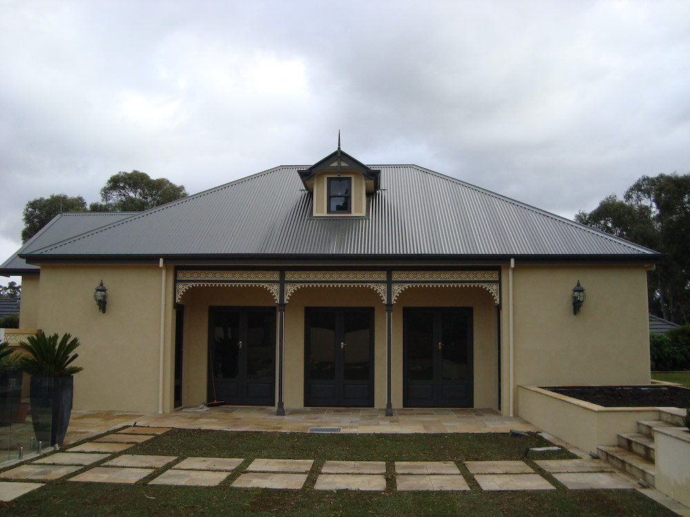 heritage style roof-squashed