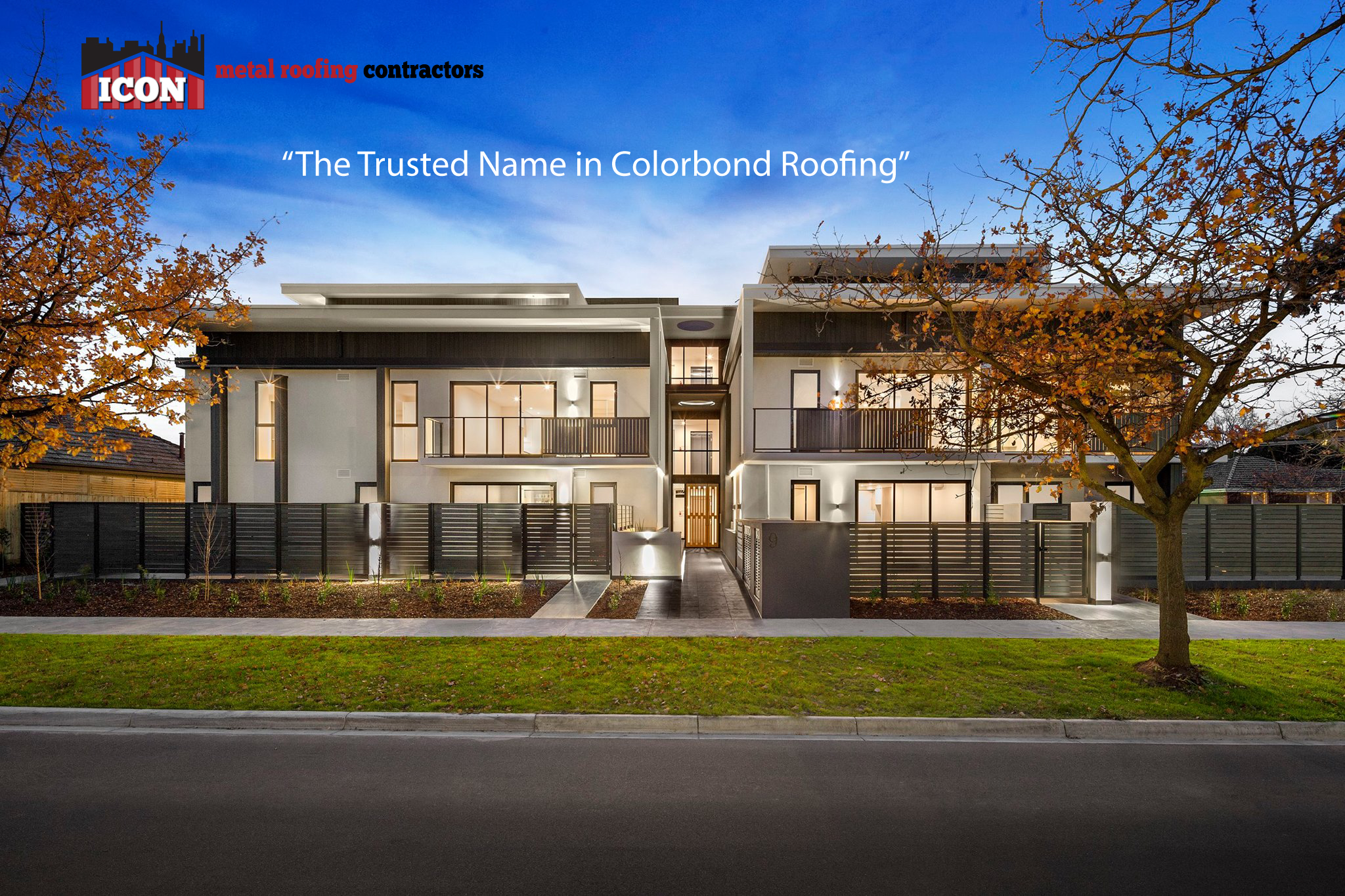 About us Icon Metal Roofing