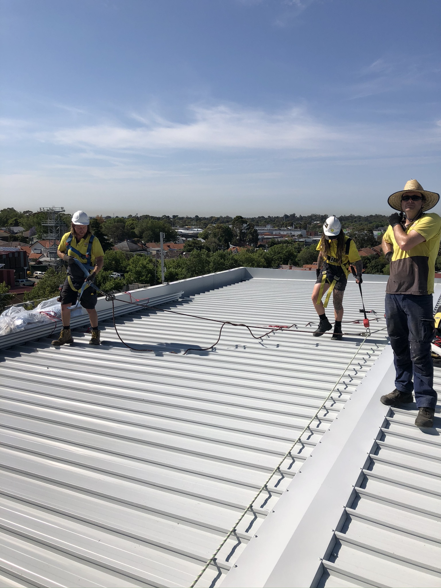 The Icon team installed a new roof at Bentleigh Primary School