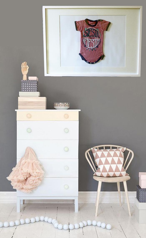 DIY Enmarcar la ropa de tu beb Decora con recuerdos y amor de madre