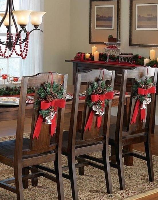 TIPS para decorar sillas esta Navidad DECO Merry Christmas