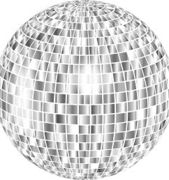 glimmering disco ball enhanced 2 no background png [ 2343 x 2342 Pixel ]