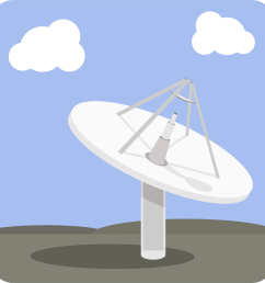 satellite dish base station icons png free png and icons satalite icon dish network icon [ 2006 x 2006 Pixel ]