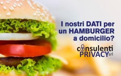 Privacy sotto indagine anche per Deliveroo: i nostri dati in cambio di un hamburger a domicilio