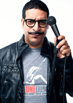 Comedian Erik Griffin