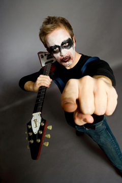 Brendon Small Dabbles In The Makeup