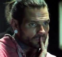 Jeff Hardy In Studio